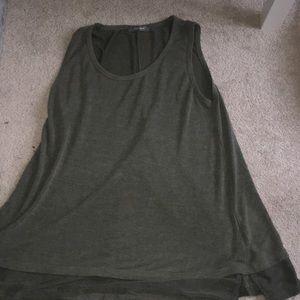 Dresses & Skirts - olive green shirt/dress